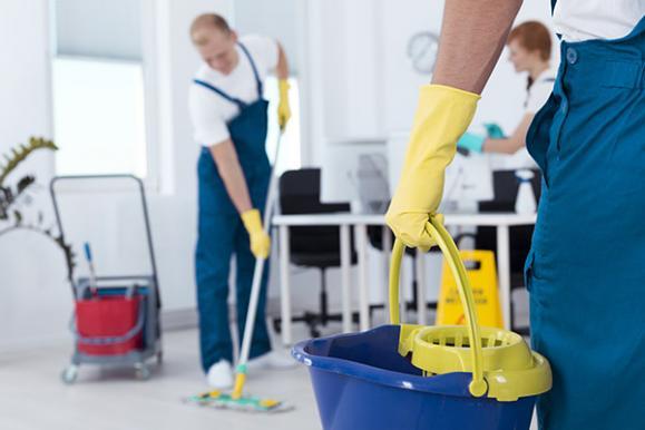 Nettoyage de locaux professionnels